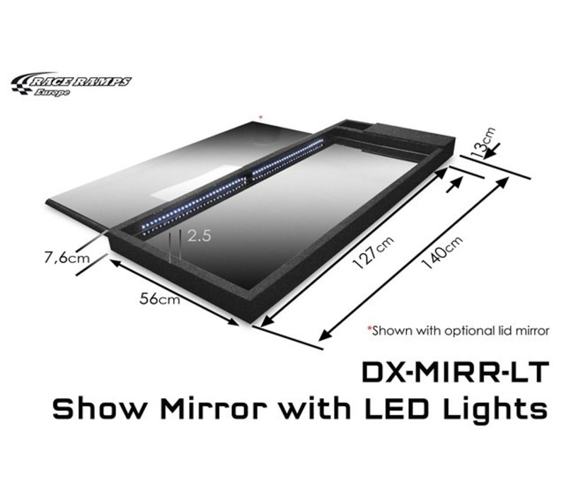 Show Mirror with LED lights (1 piece)
