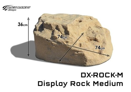 Race Ramp Display Rock Medium (1 piece)