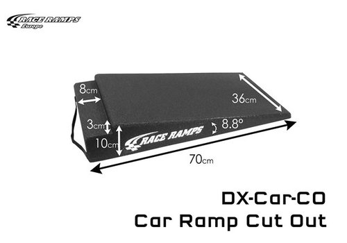 Race Ramp Car Ramp Cut Out (set of 2)