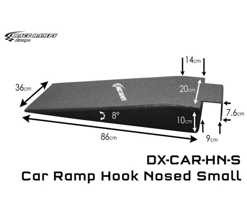 Car Ramp Hook Nosed Small (set of 2)