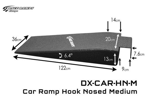 Race Ramp Car Ramp Hook Nosed Medium (set of 2)