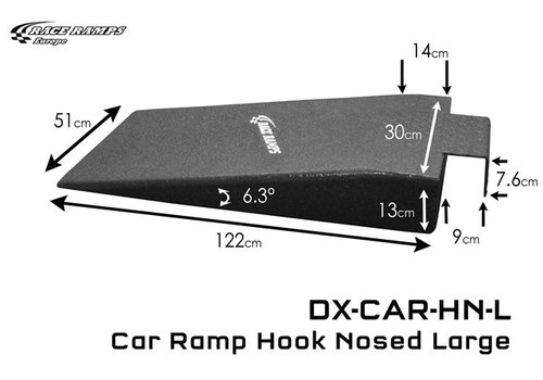 Race Ramp Car Ramp Hook Nosed Large (set of 2)