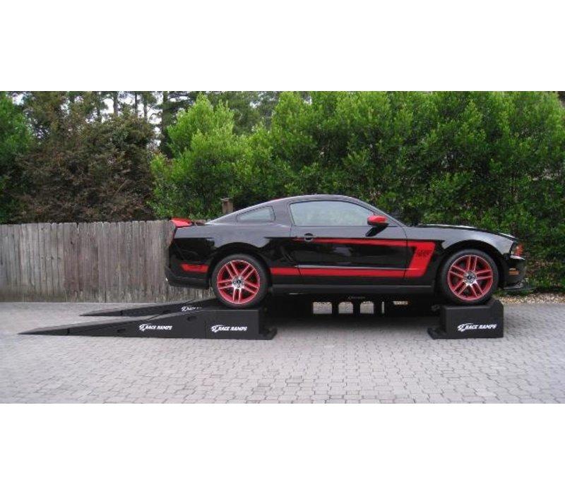 Portable Pitstop Ramp Racer Model (set complete)