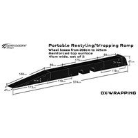 Portable Pitstop Restyling/Wrapping Ramp (set complete)