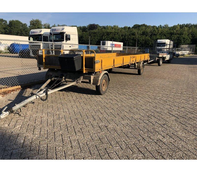 Gebruikte Pijnappel schamelwagen 2000kg