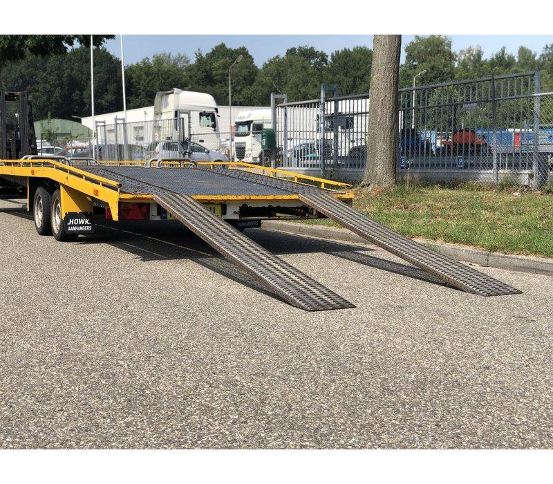 Gebruikte autotransporter 8m 3500kg schamelwagen