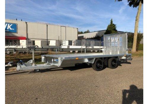 Hapert Aanhangwagens Demo Hapert Indigo LF-2 machine transporter 3500kg met Paraboolvering