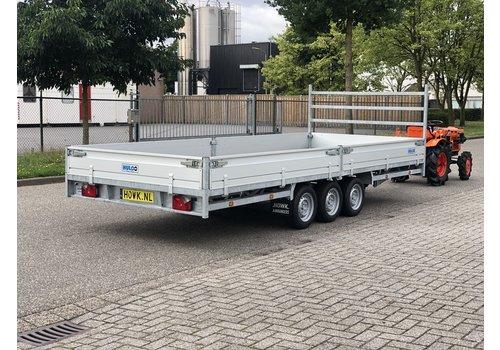 Hulco Aanhangwagens Demo Hulco Medax-3 502x203 ( 3500kg ) Tridem