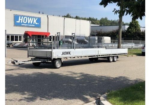 Hulco Aanhangwagens Gebruikte Hulco Schamelwagen 811x211 3500kg