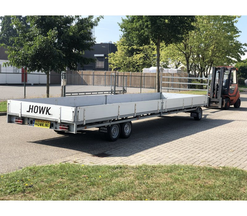 Gebruikte Hulco Schamelwagen 811x211 3500kg
