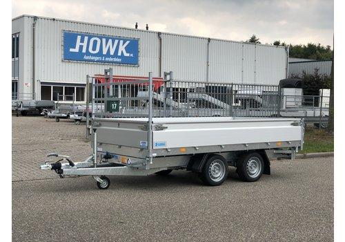 Hapert Aanhangwagens Hapert Cobalt HM-2 kieper 335x180 3000kg 40cm borden