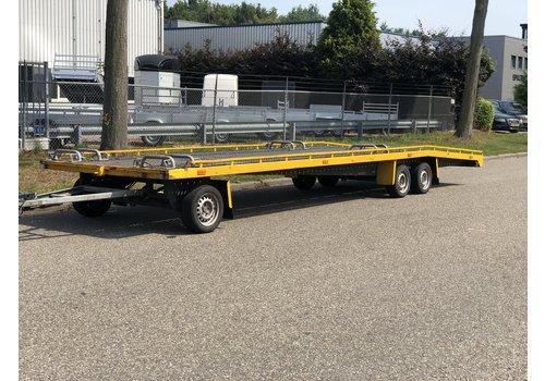 Mobu Gebruikte autotransporter 8m 3500kg schamelwagen