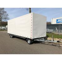 Hulco schamelwagen met huif 600x200x210cm