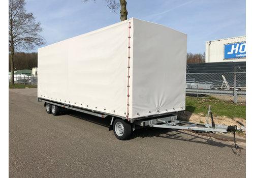 Hulco Hulco schamelwagen met huif 600x200x210cm