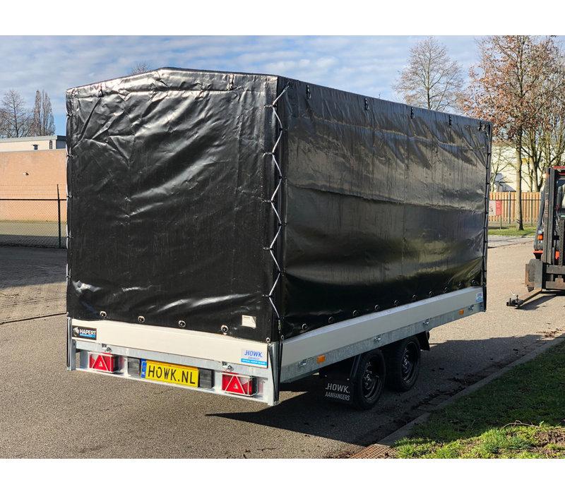 Demo Hapert Azure met huif 405x180x180cm ( 3000kg )