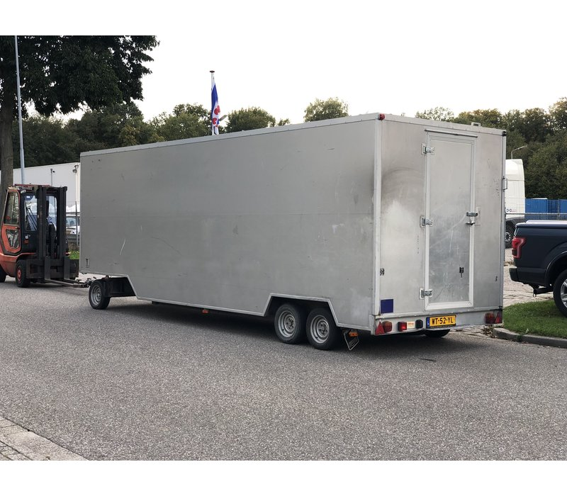 Gebruikte van Weel schamelwagen / verkoopwagen