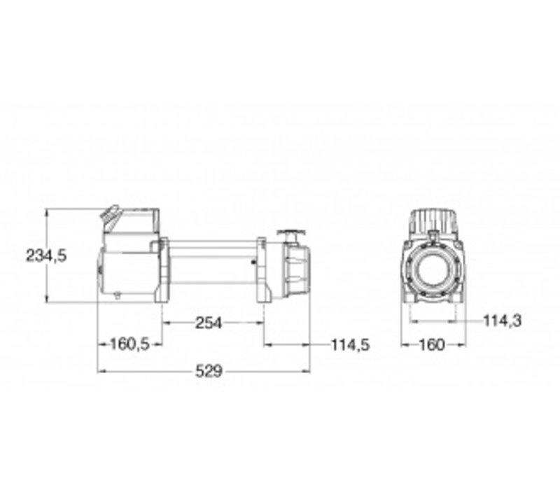 Elektrische lier TSI 35 KN 3560kg