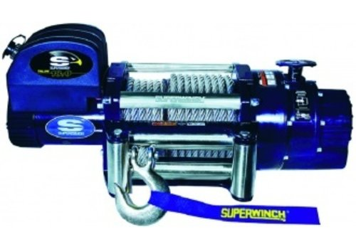 SUPERWINCH SUPERWINCH Talon 18 (24v) max trekkracht 8165kg afstandsbediening met kabel