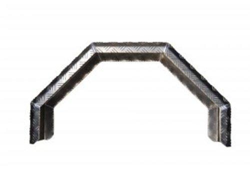 HOWK Aluminium Spatscherm enkelasser 230x800mm