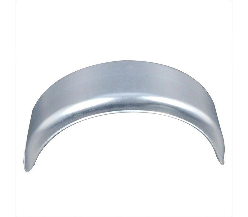 Enkelas metalen spatbord Rond, H 1509, B 150/S 560 mm