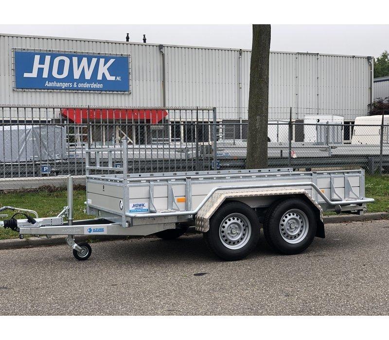 Aluminium traanplaat spatbord AQ 23150 (tandemas), Aluquinett, B 230/S 1500 mm