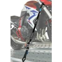 Motorfiets spanbandsysteem