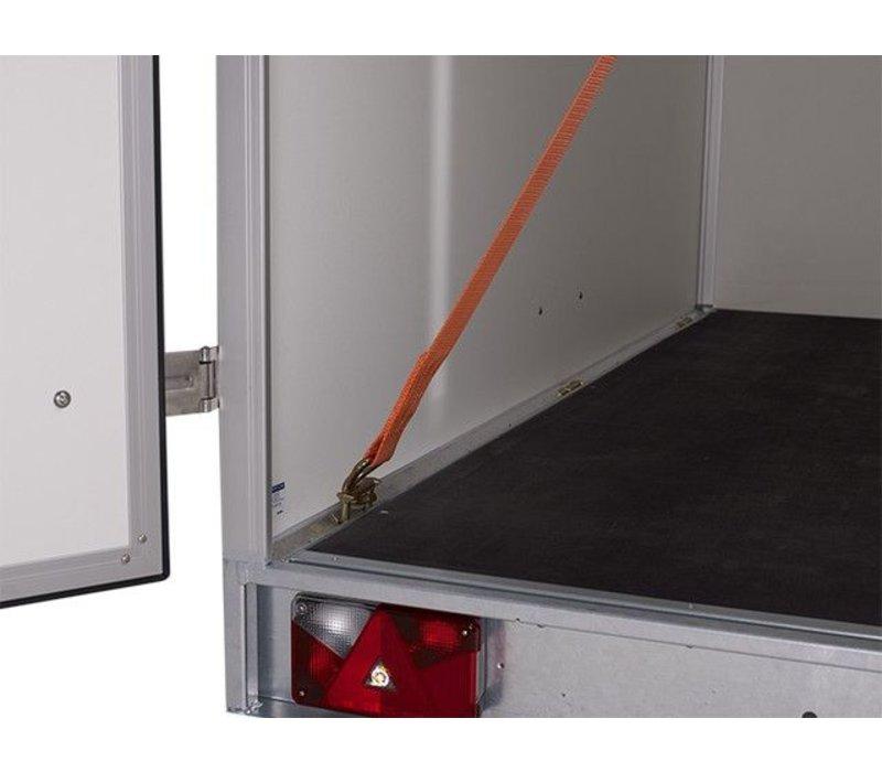 Actie model:  Hapert gesloten Saphire L1 250x130x150cm ( 1350kg )