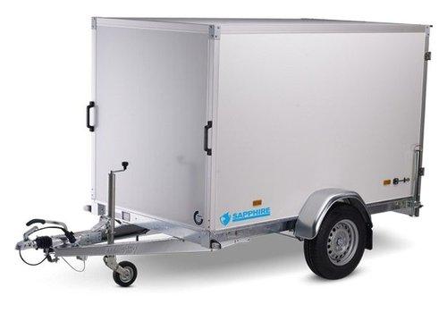 Hapert Aanhangwagens Actie model:  Hapert gesloten Saphire L1 250x130x150cm ( 1350kg )