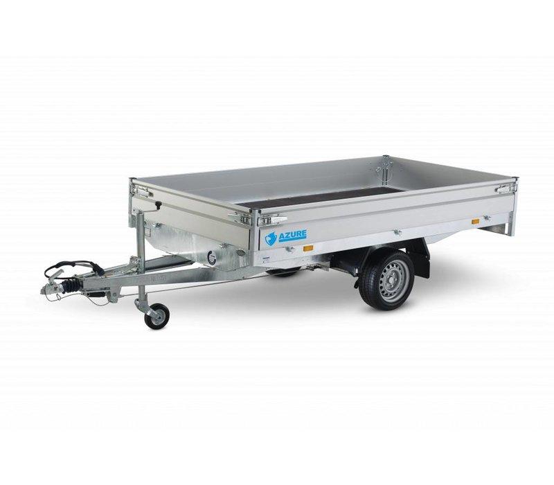 Actie model Nieuwe Hapert Azure plateauwagen H-1 260x150cm 1350kg