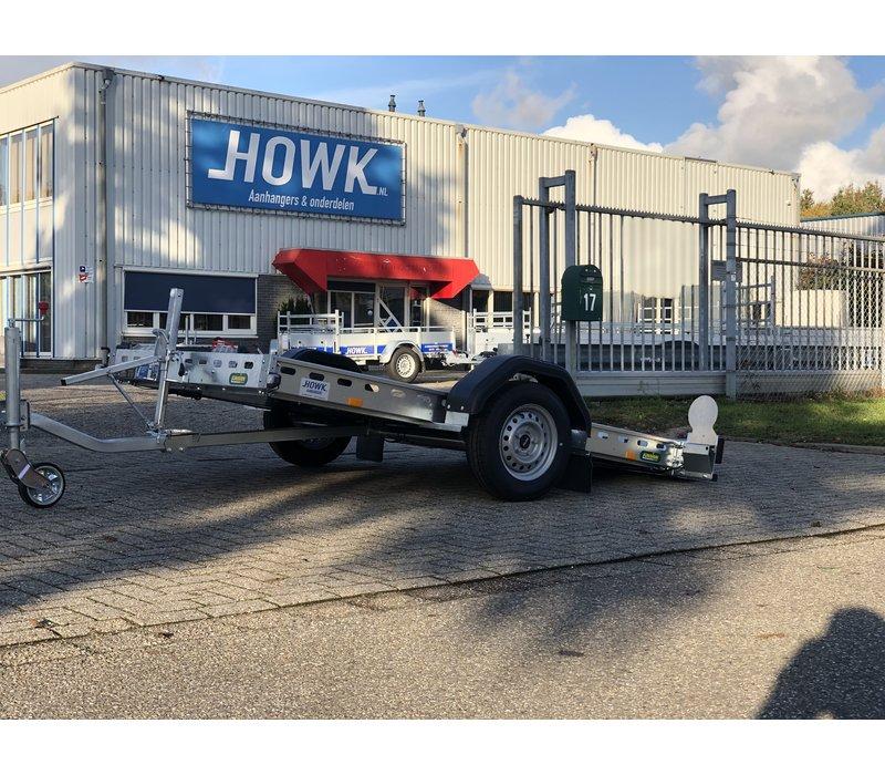 Kantelbare trailer 260x155cm ( 750kg ) ongeremd