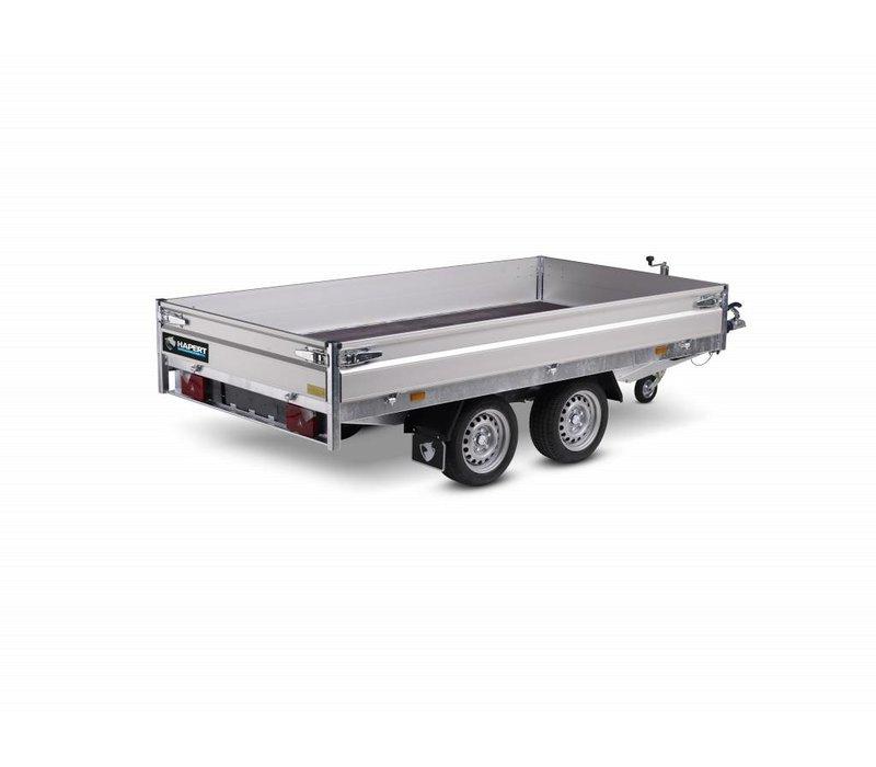 Actie model Hapert Azure plateauwagen 305x160cm ( 2000kg)