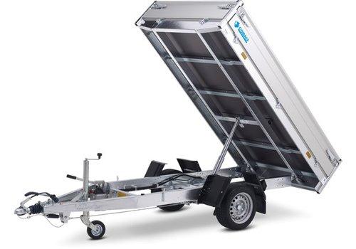 Hapert Aanhangwagens Actie model Hapert Cobalt HB-1 1-zijdige kipper 260x150cm (1500kg)