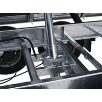 Actie model Hapert Cobalt HM-2 3-zijdige kipper 335x180cm (3000kg)