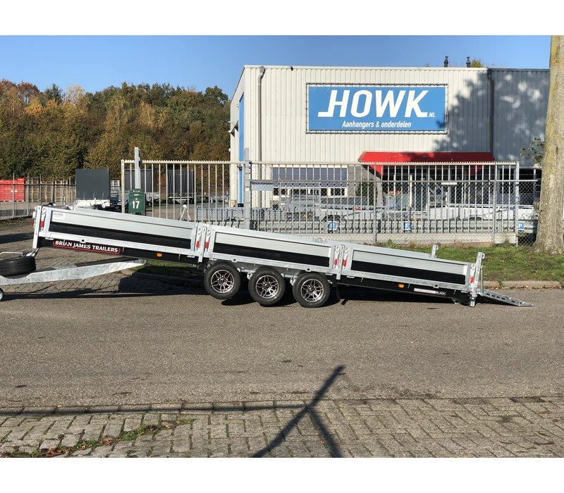 Black Edition Brian James Cargo Connect 550x213cm 3500kg Tridem