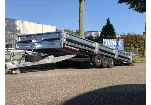 Brian James Trailers Black Edition Brian James Cargo Connect 550x213cm 3500kg Tridem