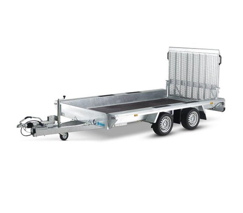 Actie model Hapert Indigo LF-2 machine transporter 410x184cm 3500kg