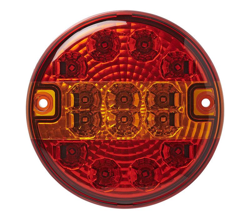 Led Aanhangerverlichtingsset LED 3F met magneten 7,5+2,5M kabel 13P.