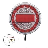 LED Achterlicht 12/24V 4 functies 125mm