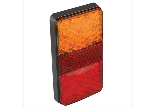 Budgetline LED Achterlicht 12/24V 4 functies 80x150mm