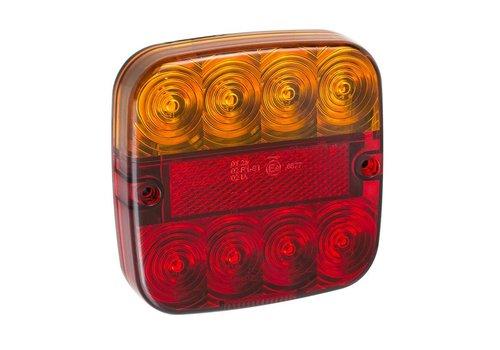 Budgetline LED Achterlicht 12V 5 functies 107x107mm