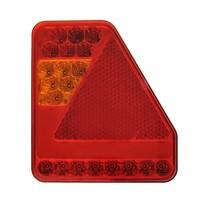 LED Achterlicht 5 functies 208x188mm 22LED links