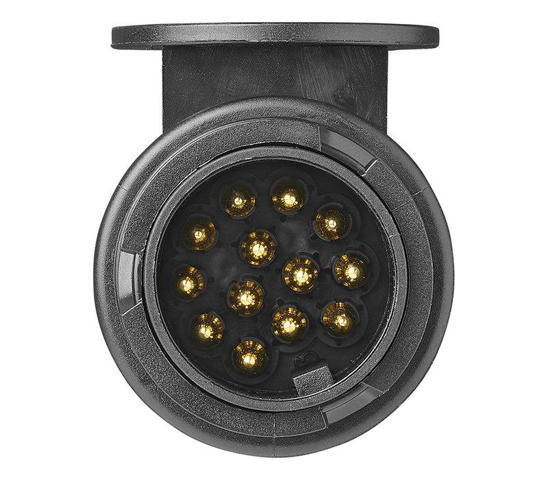 Stekker 13-polig PVC type Jaeger