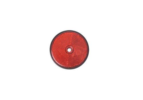 Budgetline Reflector rood 60mm schroefbevestiging