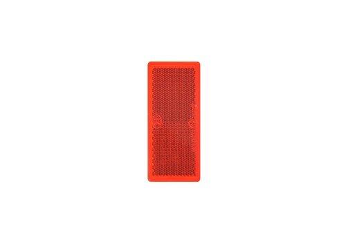 Budgetline Reflector rood 82x36mm zelfklevend