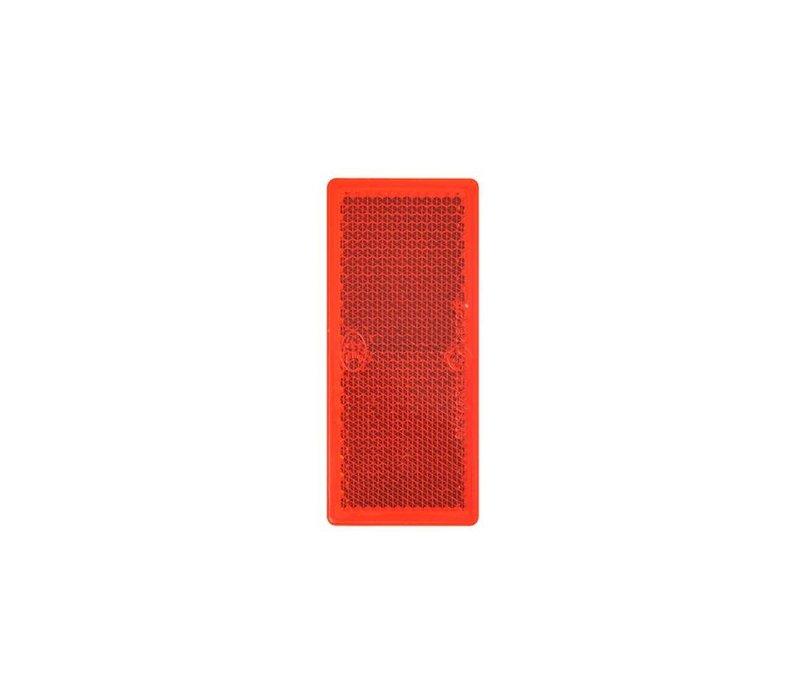 Reflector rood 82x36mm zelfklevend