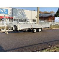 Gebruikte Brian James kanteltrailer 500x210cm 3500kg
