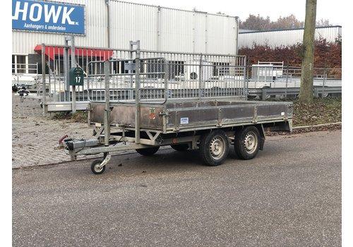 Pijnappel Gebruikte Pijnappel plateauwagen 305x170cm 1500kg