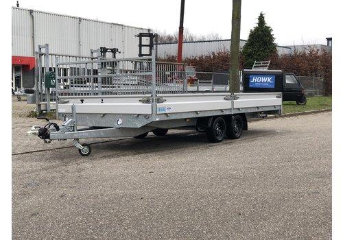 Hapert Aanhangwagens Demo Hapert Azure H-2 plateauwagen 505x220cm 3500kg met paraboolvering