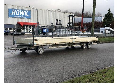 Henra Gebruikte Henra schamelwagen 700x200cm 3500kg