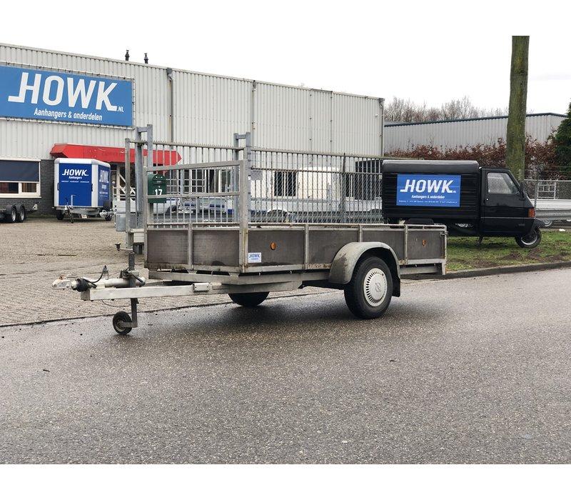 Gebruikte bakwagen 295x125cm Opknapper